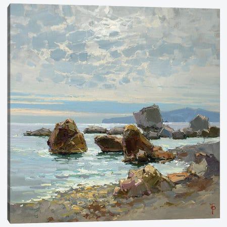 Moring Over The Sea Canvas Print #IPZ9} by Igor Pozdeev Canvas Art
