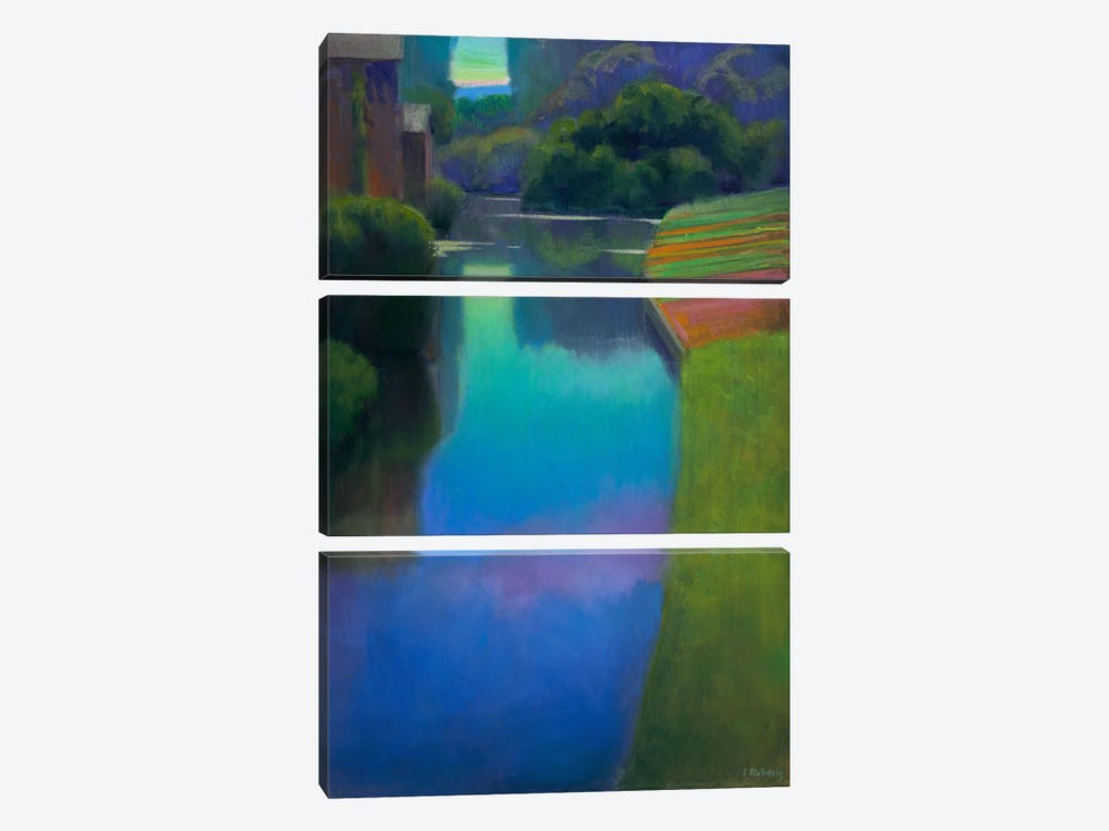 Dusk At Contevoir by Ian Roberts 3-piece Canvas Wall Art