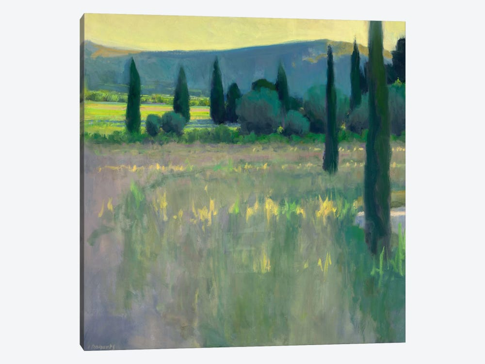 Evening At The Chateau by Ian Roberts 1-piece Canvas Art Print