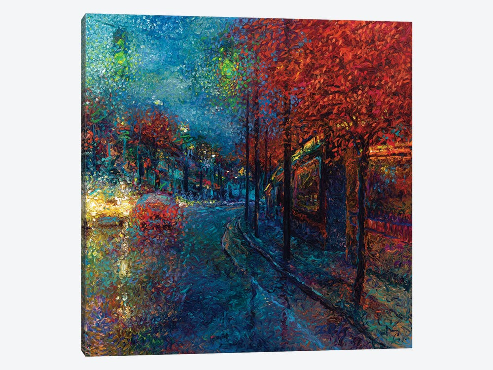 Coming Down The Pike by Iris Scott 1-piece Canvas Art