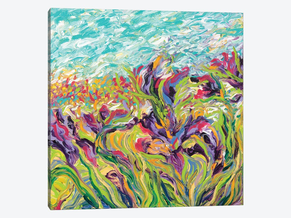 Irises I by Iris Scott 1-piece Art Print