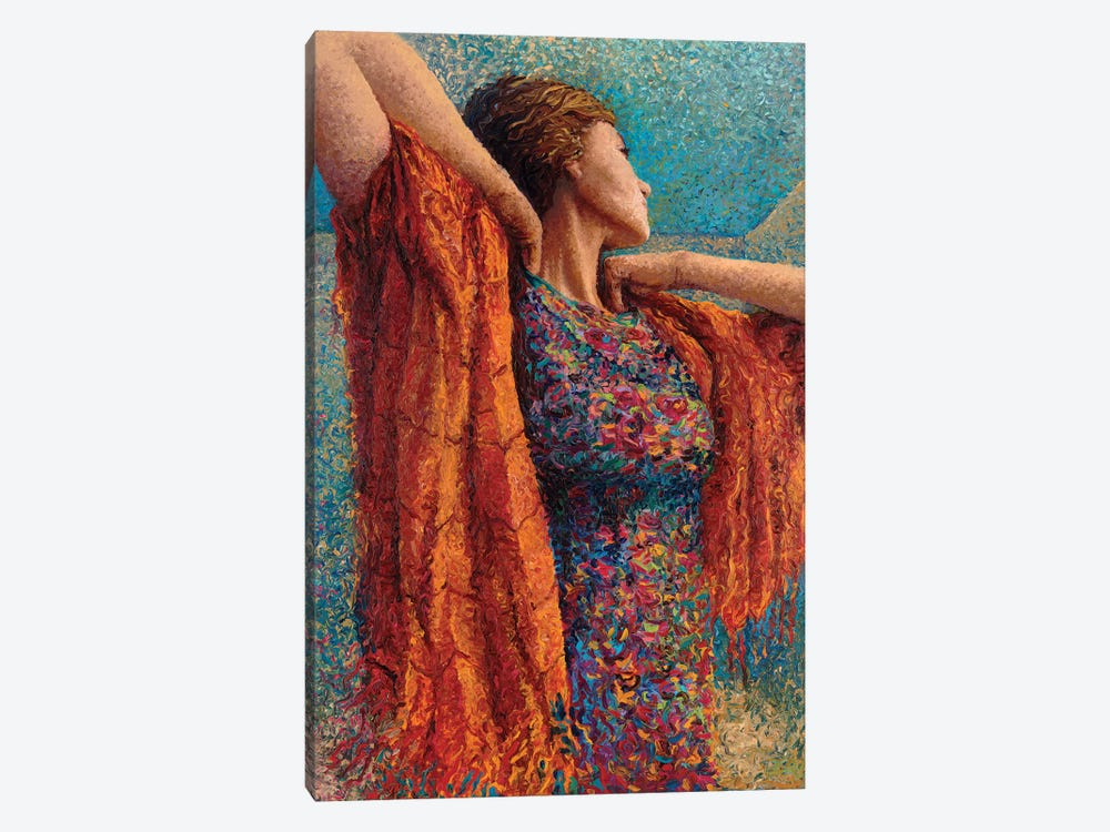 Miss Gibbons And The Scarf by Iris Scott 1-piece Canvas Art Print