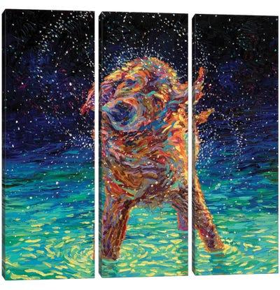 Moonlight Swim Canvas Art Print