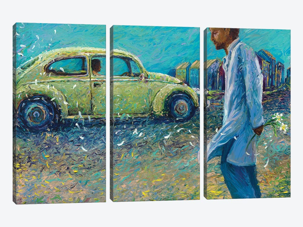 My Thai Volkswagen by Iris Scott 3-piece Canvas Art
