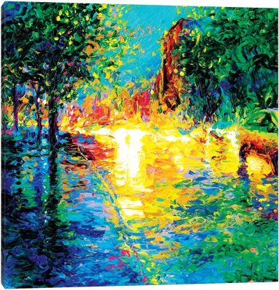 Brooklyn Dawn Canvas Art Print