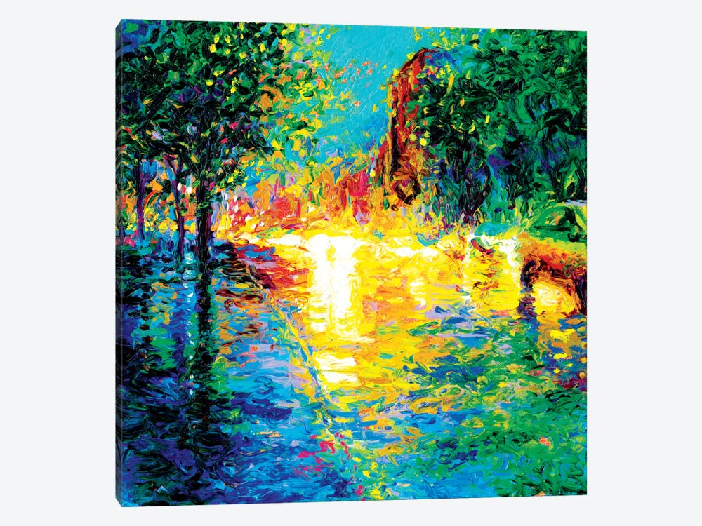 Brooklyn Dawn by Iris Scott 1-piece Canvas Artwork