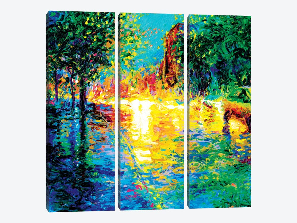 Brooklyn Dawn by Iris Scott 3-piece Canvas Artwork
