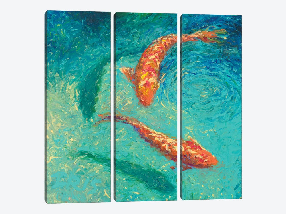 Nueve by Iris Scott 3-piece Canvas Art Print