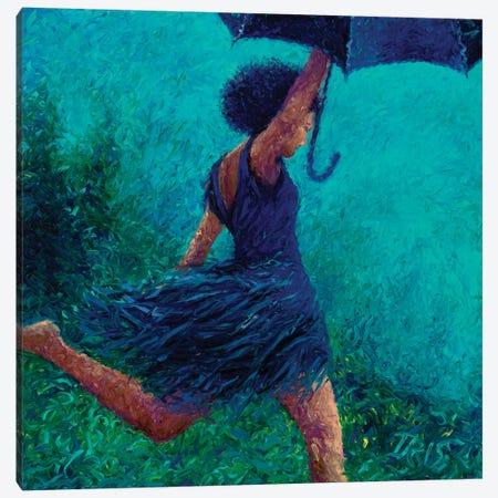 Bumbershoot Dash Canvas Print #IRS12} by Iris Scott Canvas Art