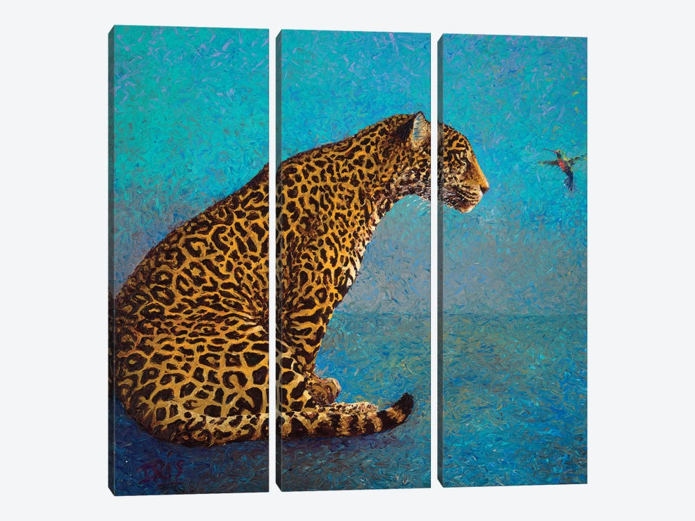 The Discussion by Iris Scott 3-piece Canvas Wall Art