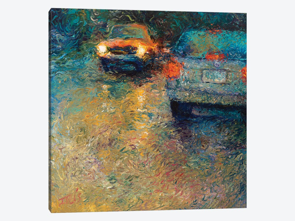 Volkswagen Blue by Iris Scott 1-piece Canvas Artwork