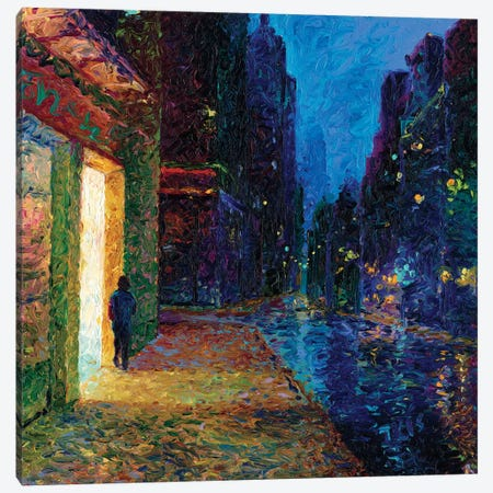 Window Shopper Canvas Print #IRS133} by Iris Scott Canvas Art