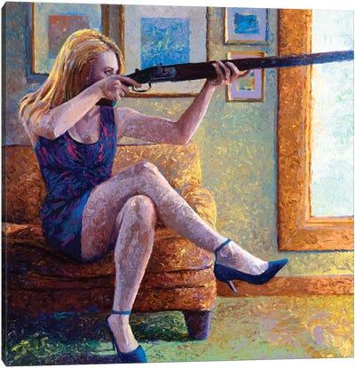 Claire's Gun Canvas Art Print