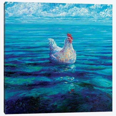 Chicken Of The Sea Canvas Print #IRS151} by Iris Scott Canvas Wall Art