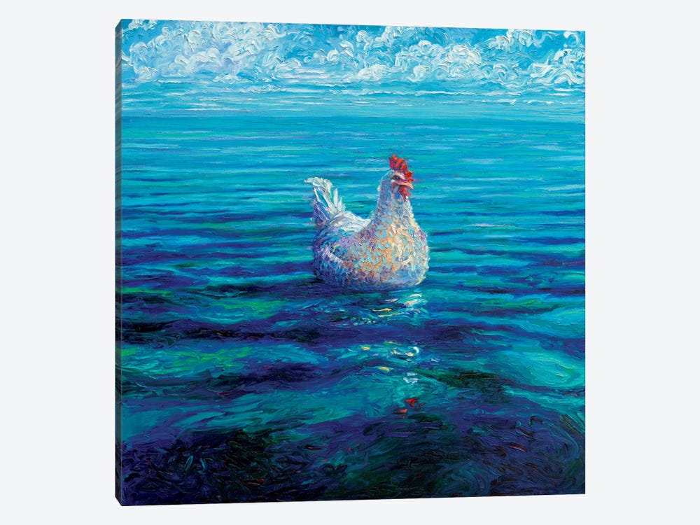 Chicken Of The Sea by Iris Scott 1-piece Canvas Art Print
