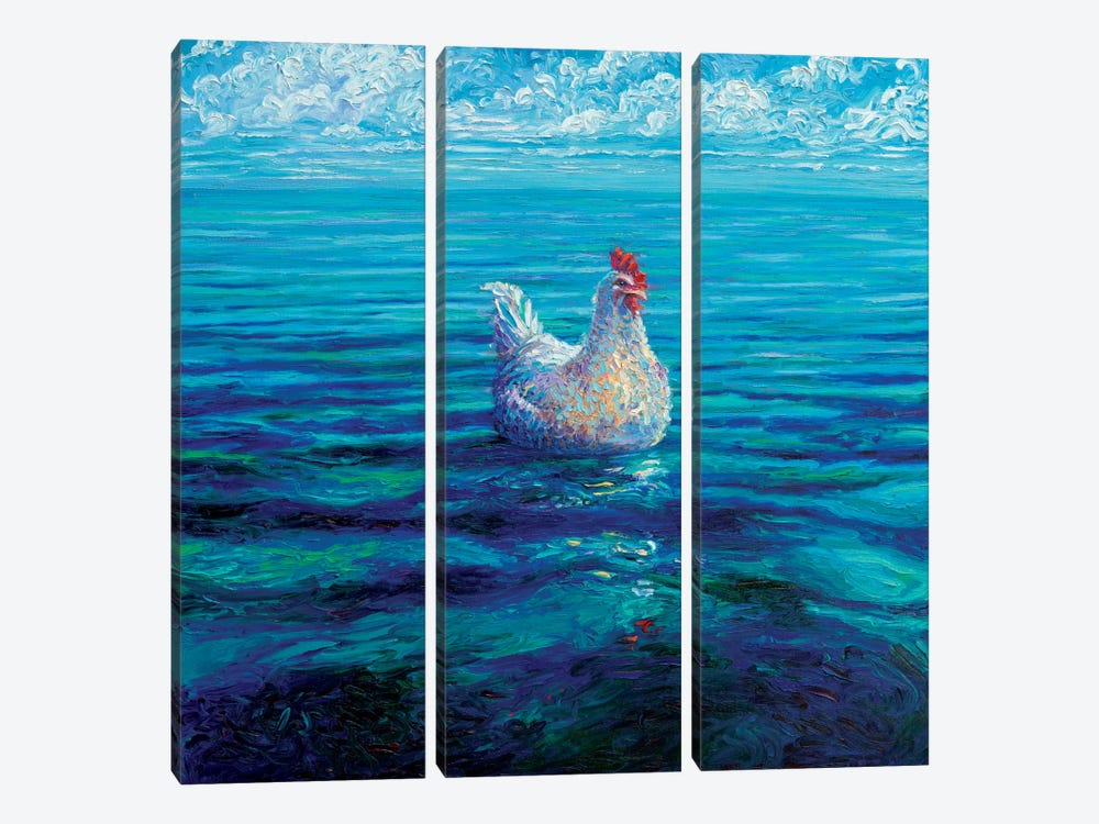 Chicken Of The Sea by Iris Scott 3-piece Art Print