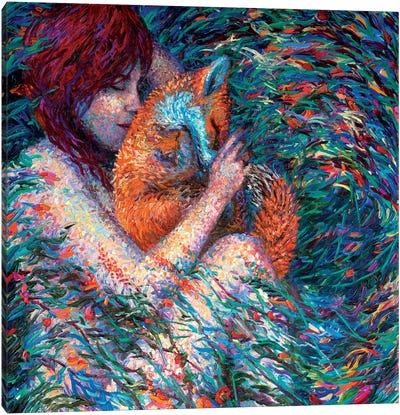Foxglove Canvas Art Print