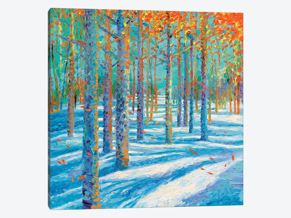 Frosted Fall 1-piece Art Print