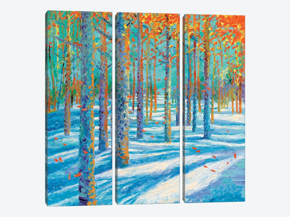 Frosted Fall 3-piece Art Print