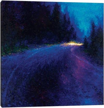 Cobalt Blue Drive Canvas Print #IRS15