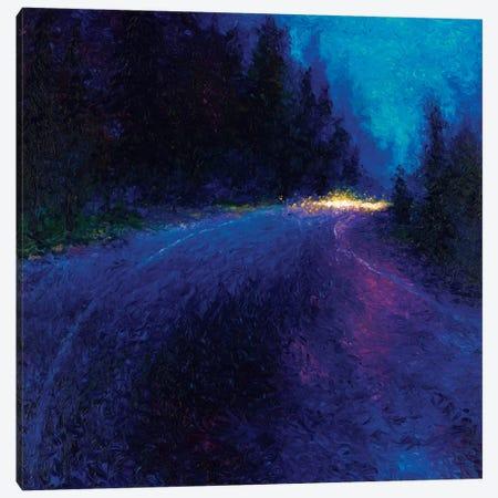 Cobalt Blue Drive Canvas Print #IRS15} by Iris Scott Canvas Print