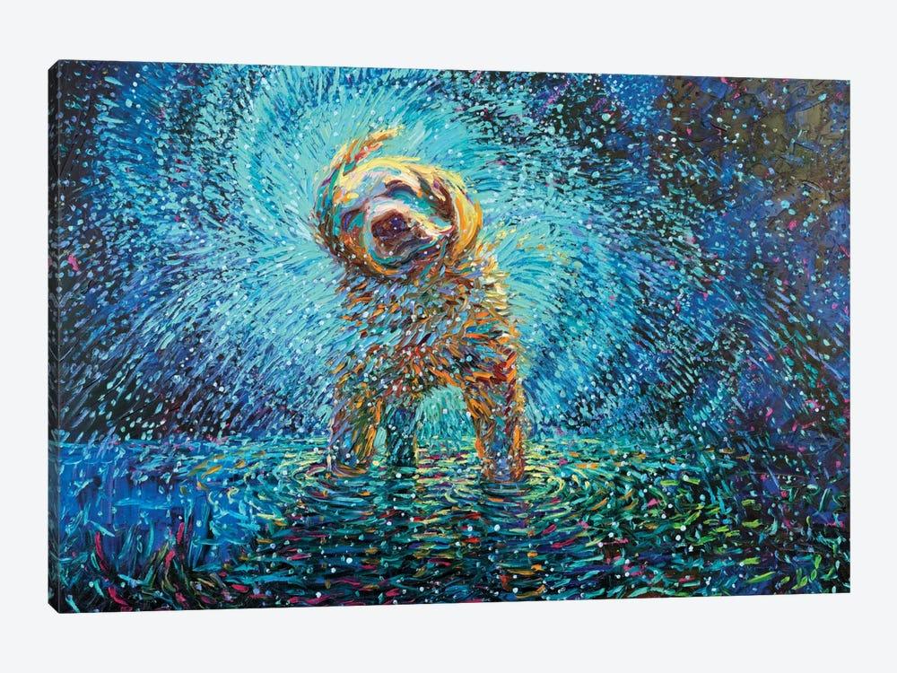 Labrador Jazz by Iris Scott 1-piece Art Print