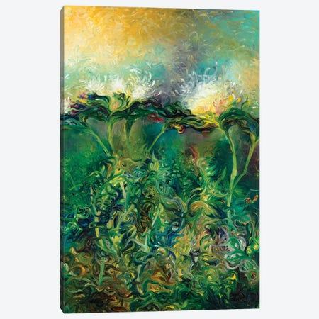 Artichoke Bloom Canvas Print #IRS163} by Iris Scott Canvas Print
