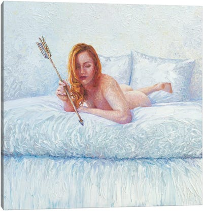 Cupid Alone Canvas Art Print