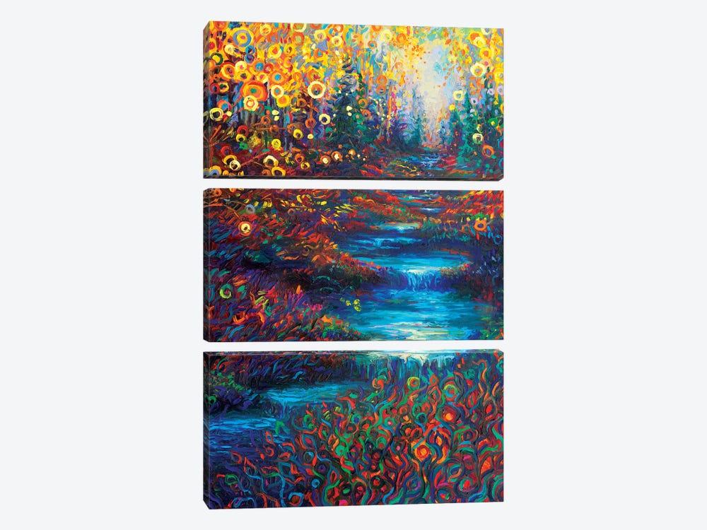 Glen's Glen by Iris Scott 3-piece Canvas Art Print