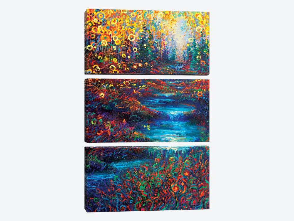 Glen's Glen by Iris Scott 3-piece Canvas Art Print
