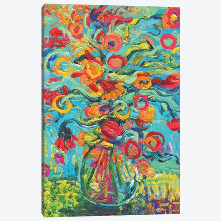 Samara Chica Canvas Print #IRS186} by Iris Scott Canvas Artwork