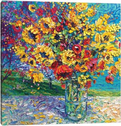 Sangria Licorice Canvas Art Print