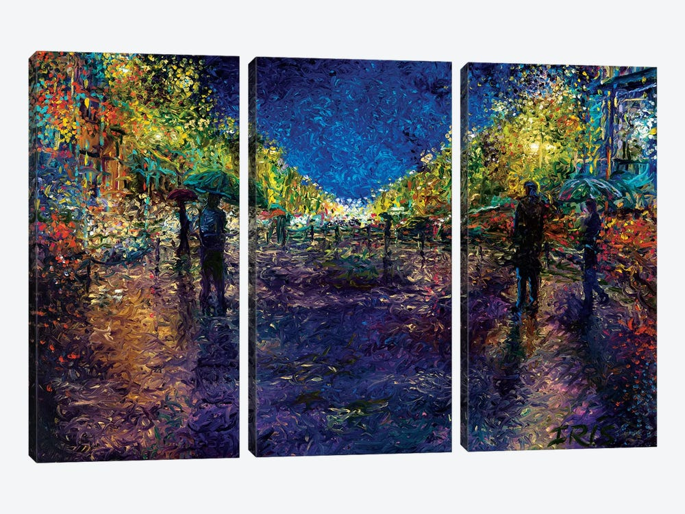 The Emerald City by Iris Scott 3-piece Canvas Artwork