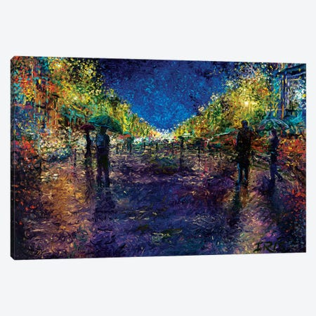 The Emerald City Canvas Print #IRS190} by Iris Scott Canvas Art
