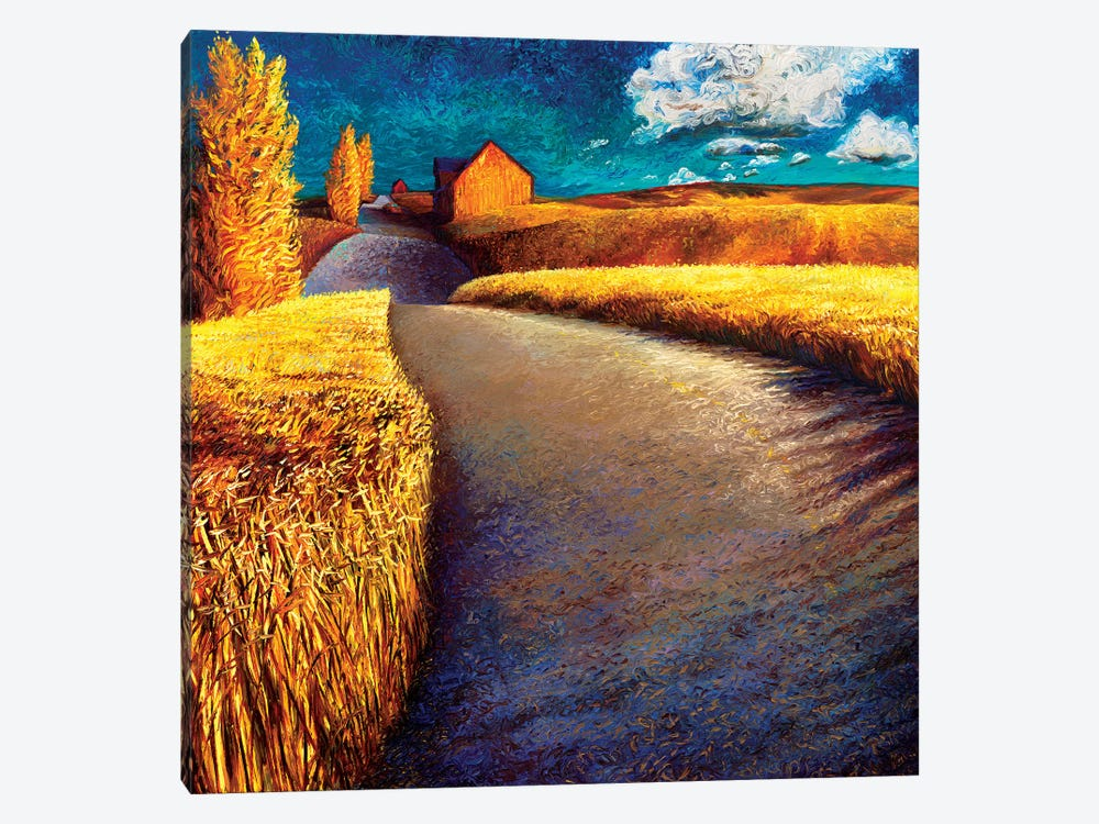 Whispering Wheat 1-piece Canvas Art Print