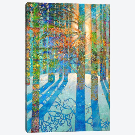 After The Snow Fell Canvas Print #IRS193} by Iris Scott Canvas Artwork