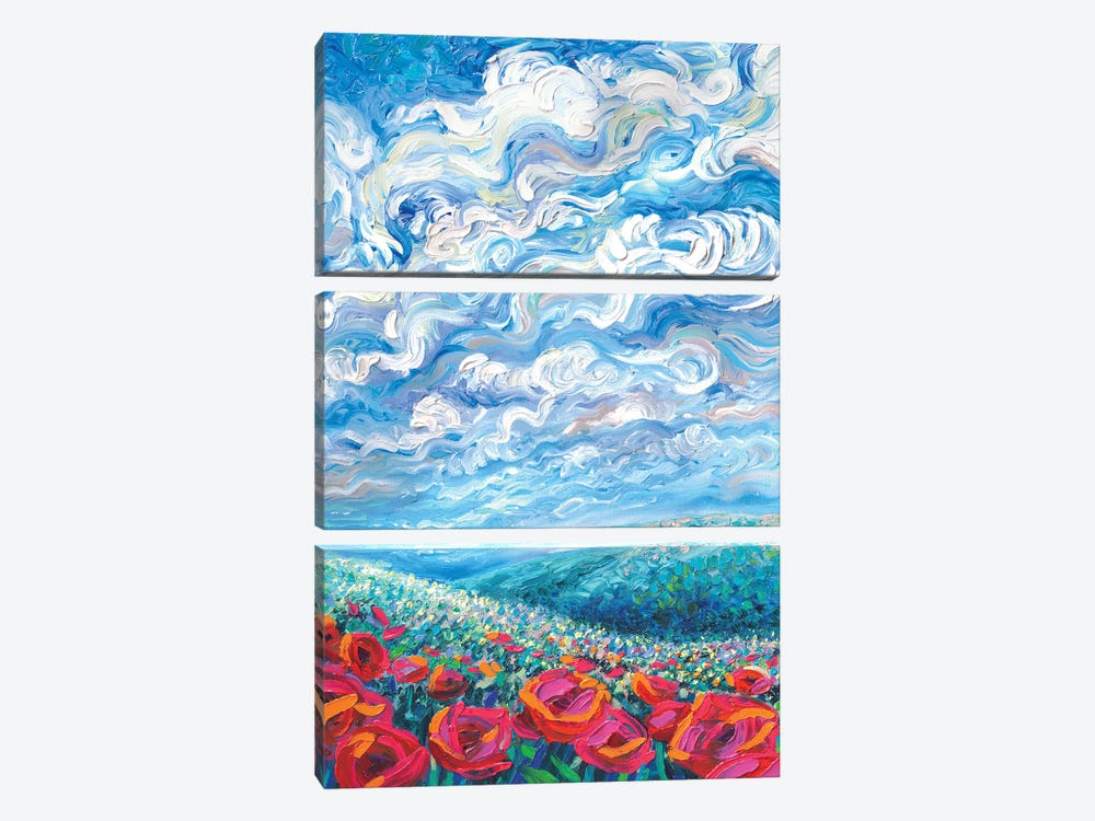 Arcadia by Iris Scott 3-piece Canvas Art Print