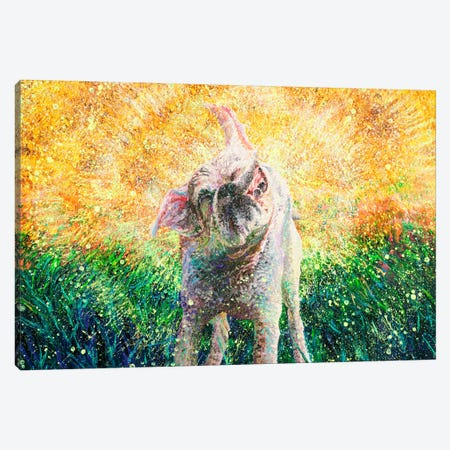 Chloe Canvas Print #IRS197} by Iris Scott Canvas Print