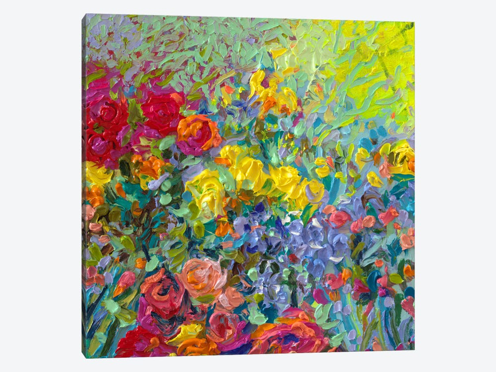 Clay Flowers by Iris Scott 1-piece Canvas Artwork