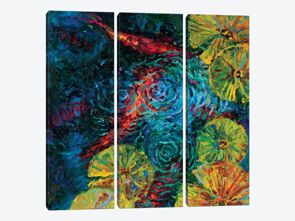 Dieci by Iris Scott 3-piece Canvas Artwork