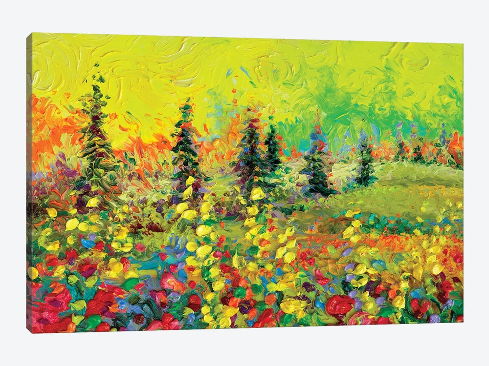 Above The Tree Line by Iris Scott 1-piece Canvas Artwork