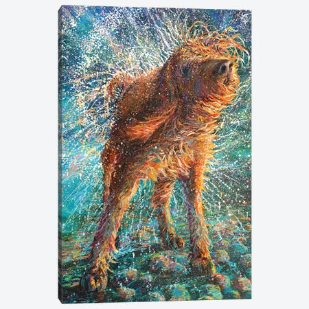 Beaded Threads Canvas Print #IRS207} by Iris Scott Canvas Art Print