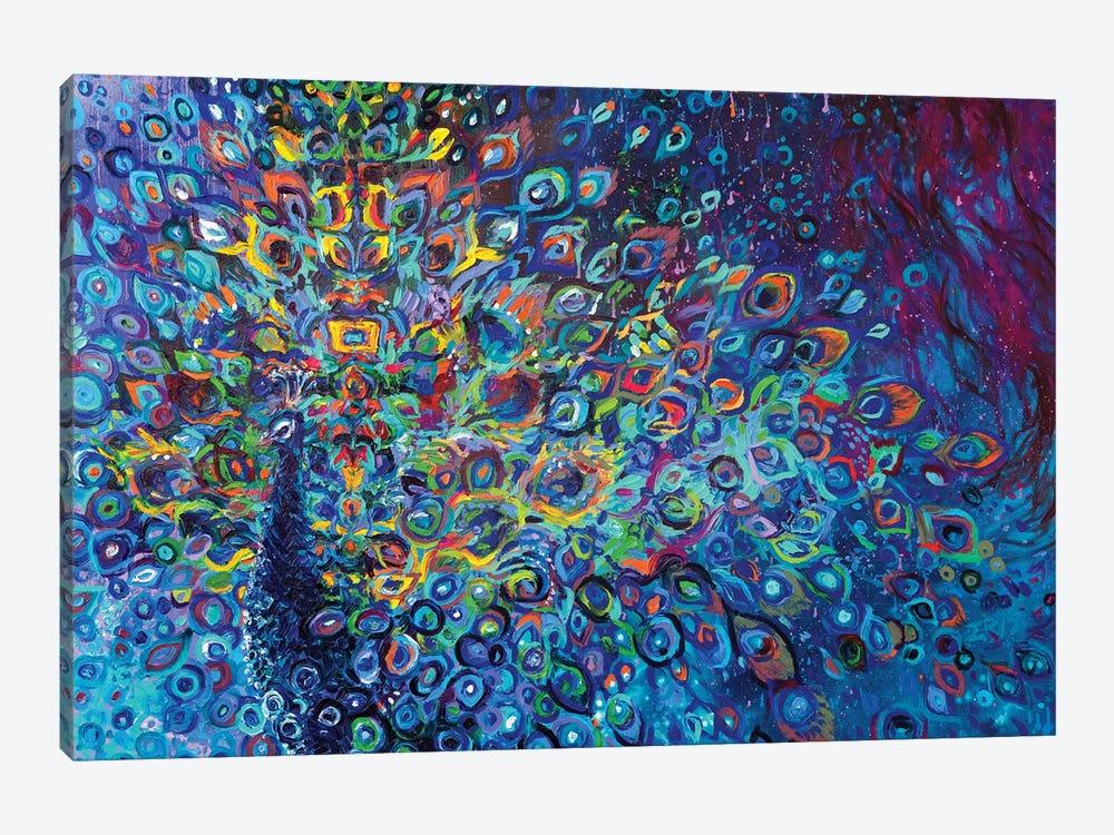 Blue Avian by Iris Scott 1-piece Canvas Art Print