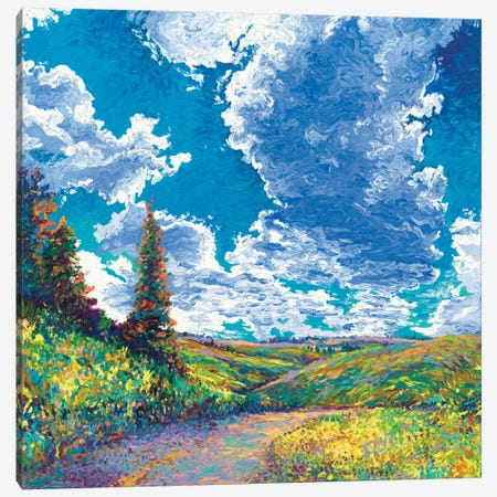 Edge of Canyon Road Canvas Print #IRS20} by Iris Scott Art Print