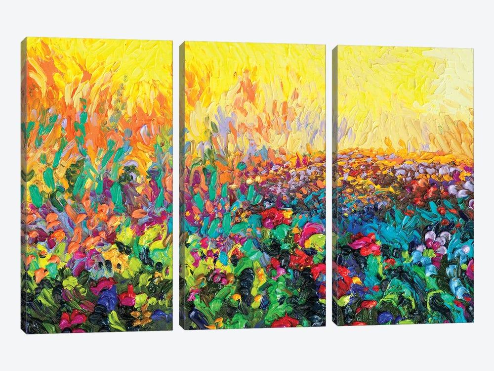 Lil Cacti by Iris Scott 3-piece Art Print