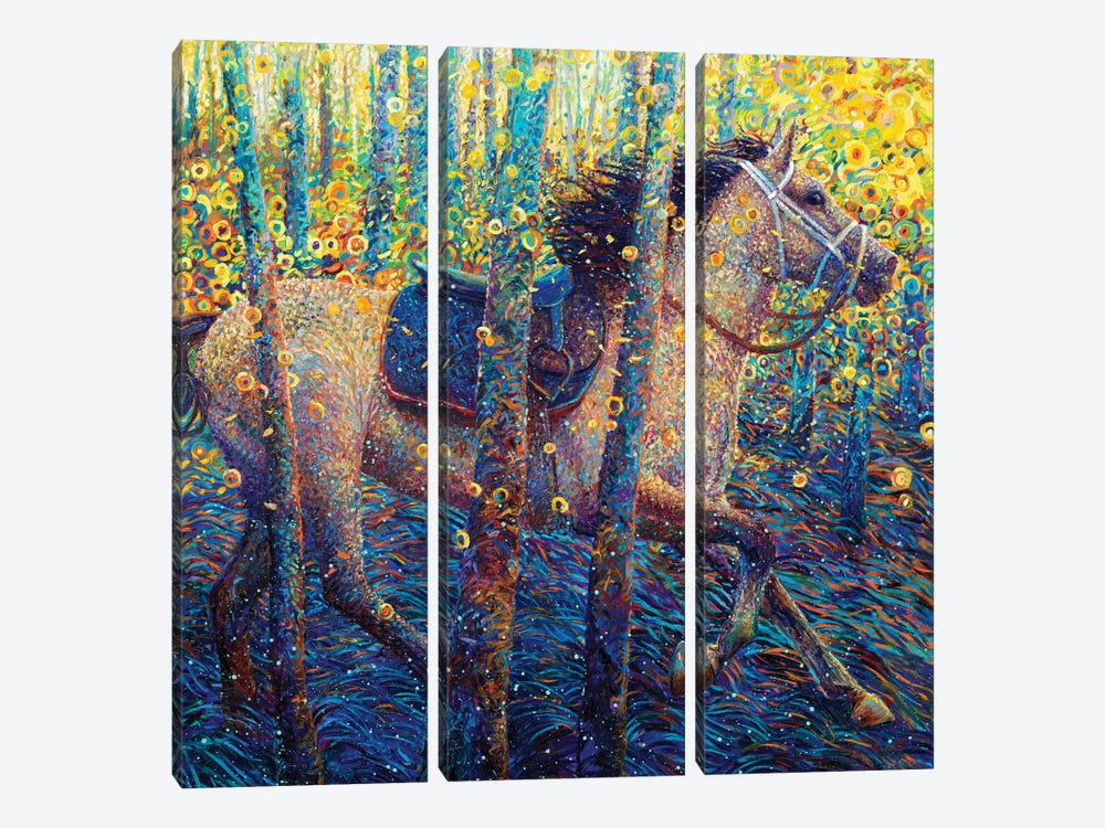 Napalm In The Morning by Iris Scott 3-piece Canvas Art