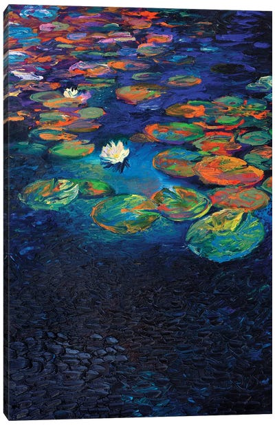 Nymphaea Lotus Canvas Art Print