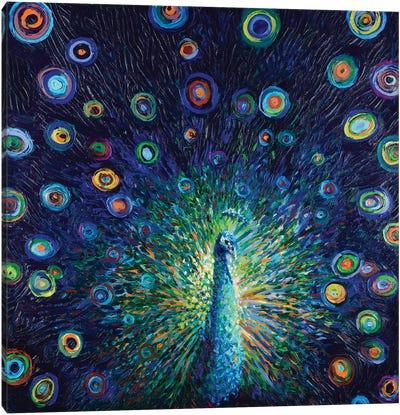 Plumas de Lunas Canvas Art Print