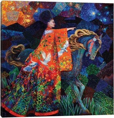 Sofia Returns Canvas Art Print