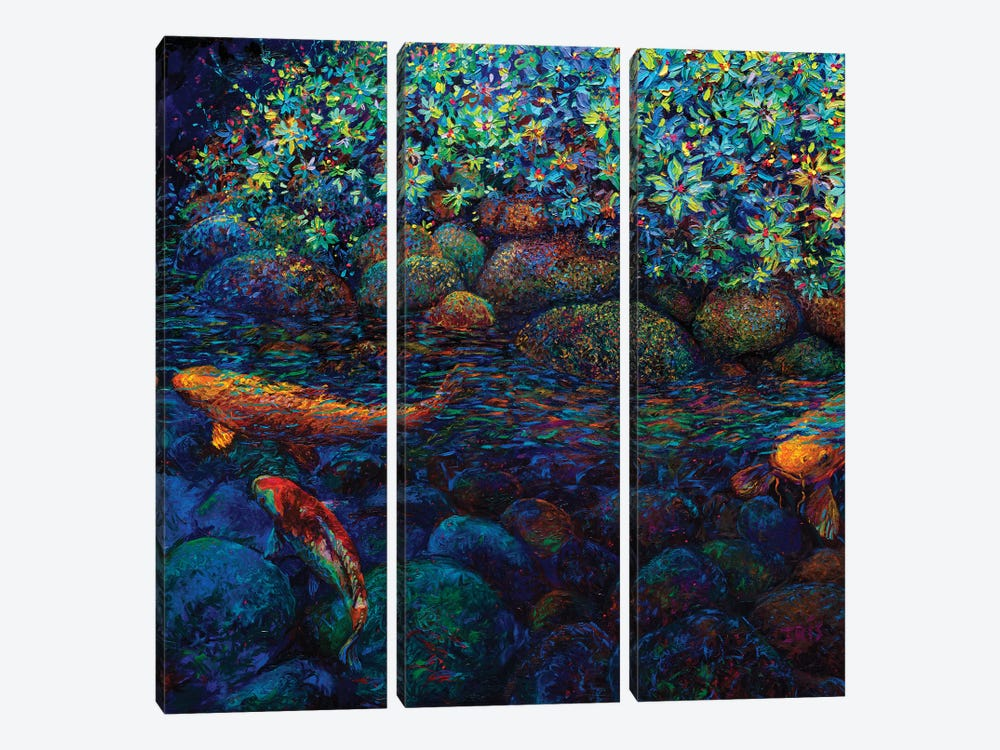 Limerance by Iris Scott 3-piece Canvas Print
